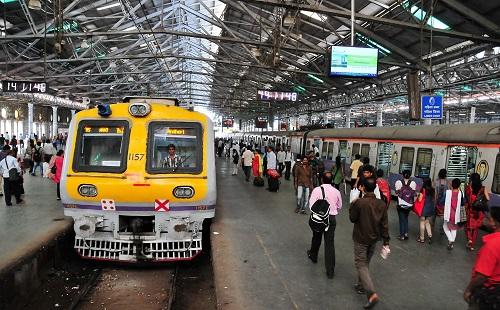 印度火车站