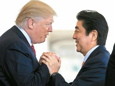 安倍访美欲谈朝核与贸易 日媒:能否取得成果不确定