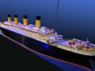世界最大泰坦尼克乐高模型
