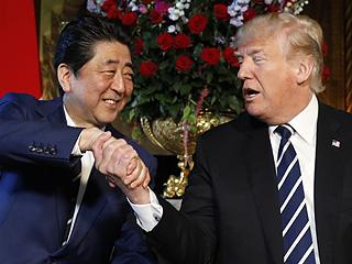 安倍晋三访问美国 聚焦朝鲜核问题