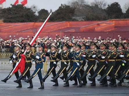 """境外媒体:解放军发布新条令 要展示军队""""一流形象"""""""