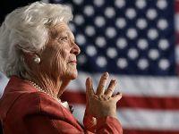 美国前第一夫人芭芭拉·布什去世