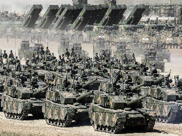 境外媒体:解放军台海实弹演习展示