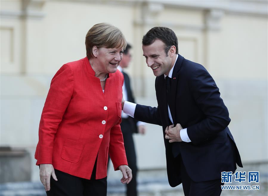 法国总统马克龙访问德国