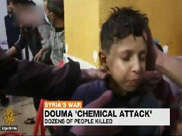 俄记者称叙利亚化武袭击视频造假:小男孩讲述如何摆拍