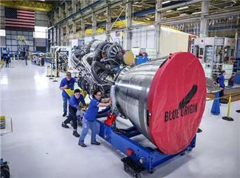 美改进型BE-4火箭引擎亮相:旨在替换俄火箭引擎