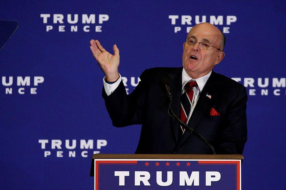 前纽约市长加入特朗普律师团队