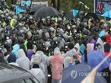 """韩媒:因谈判破裂 韩国防部今起强推""""萨德""""施工"""