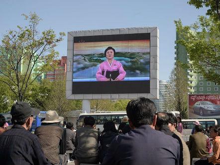外媒称外界对朝停止核试谨慎乐观