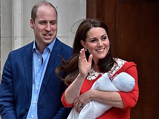 凯特王妃再诞一名男婴 抱娃现身