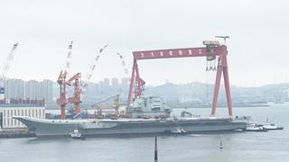 艨艟首航!中国国产航母即将首次海试