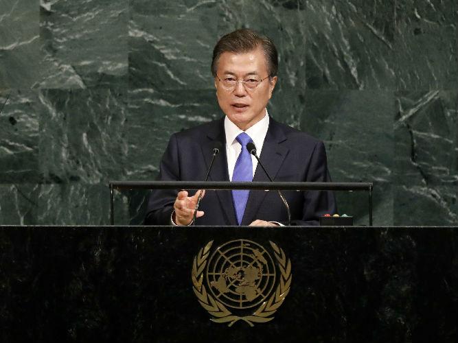 韩媒:韩朝敲定首脑会谈细节 文在寅高度评价朝停止核导试验