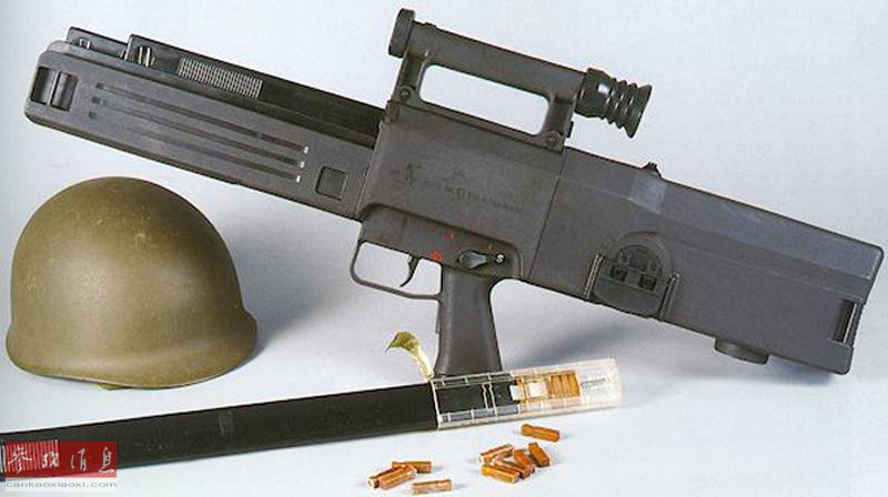 精密如钟表!德国曾研首款无壳弹药步枪