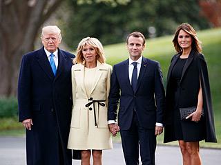 法国总统马克龙访美