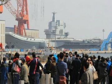 境外媒体:国产航母何时海试备受关注 双航母战斗群呼之欲出