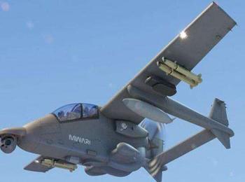 美媒:南非推出新型多用途攻击机 根据需要灵活换装武器