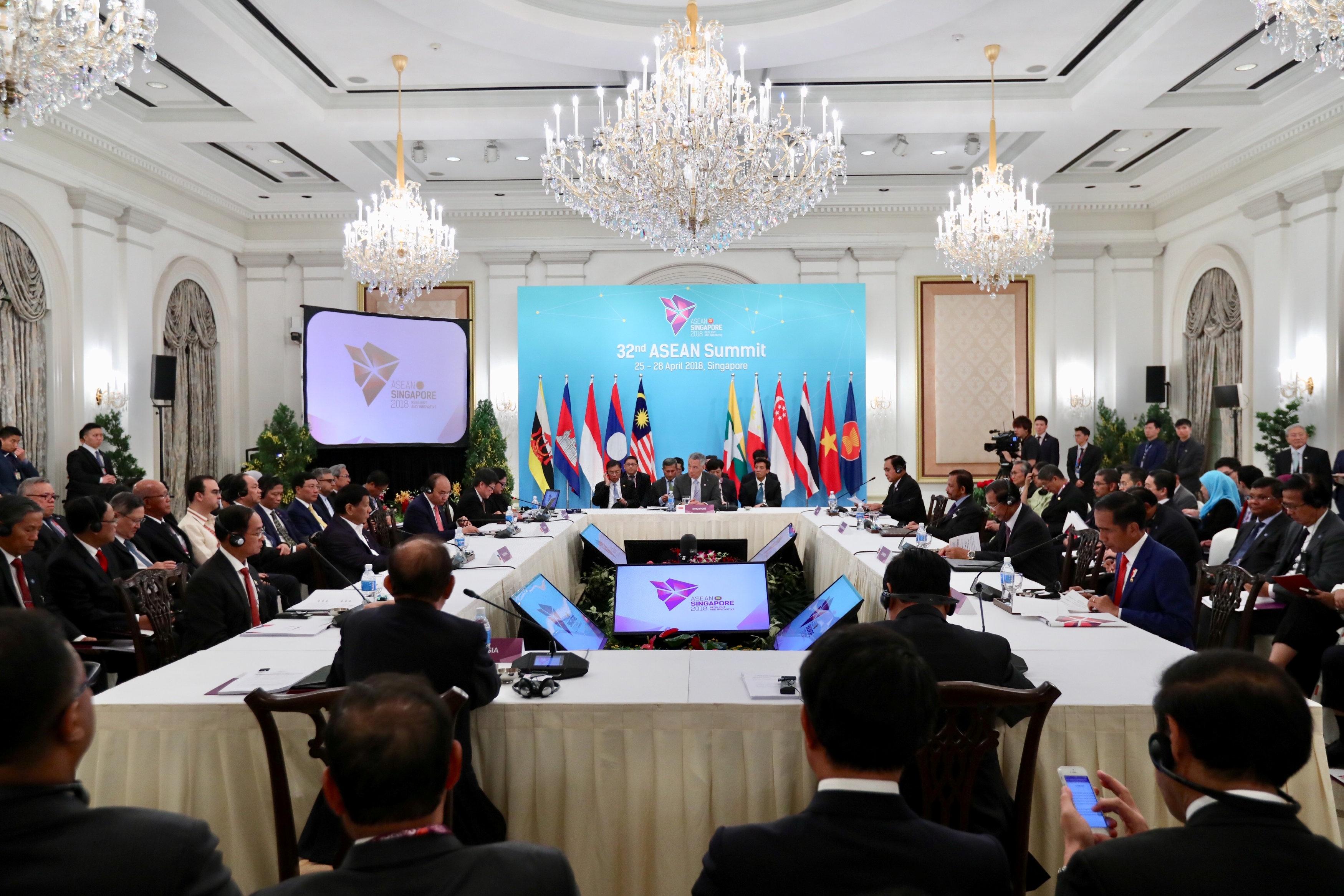 外媒:东盟峰会发表声明强调保持南海和平