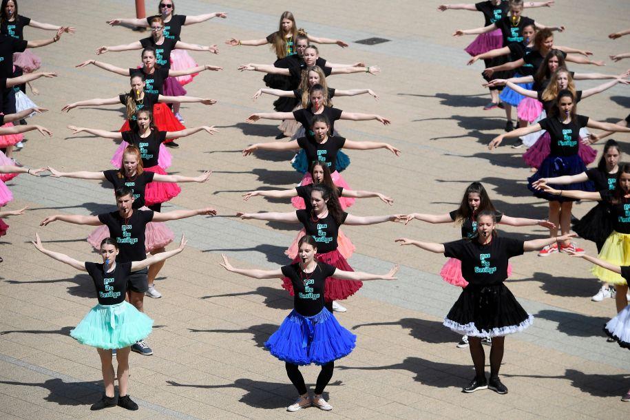 布达佩斯庆祝世界舞蹈日