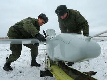 """俄军""""海盗""""无人攻击机亮相:集装箱发射 曾在叙测试"""