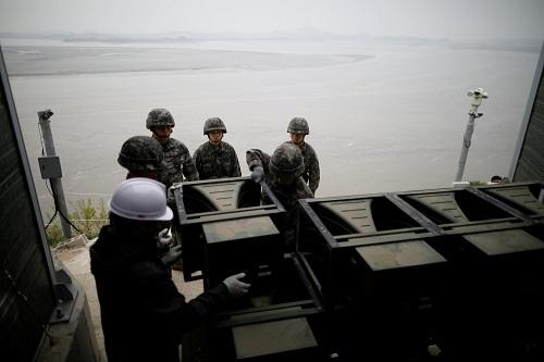 北京快乐八走势图:外媒:朝韩或互设联络处_文在寅提议地点选择首尔和平壤