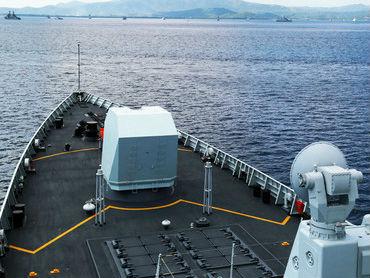 俄媒:中国海军舰艇编队抵达印尼海域 参加多国联合演习