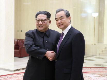 境外媒体:金正恩向王毅重申弃核决心 高度评价中方积极贡献