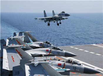 境外媒体:中国国产航母首次起降直升机 试航或进入倒计时