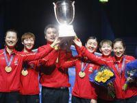 中国女队击败日本队实现世乒赛四连冠