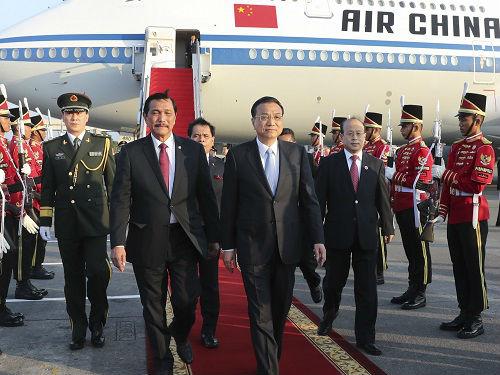 境外媒体:李克强开启访问印尼日本之行