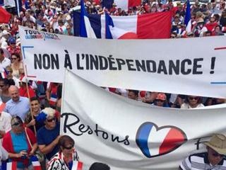 这个太平洋岛屿居民为何游行反对从法国独立?