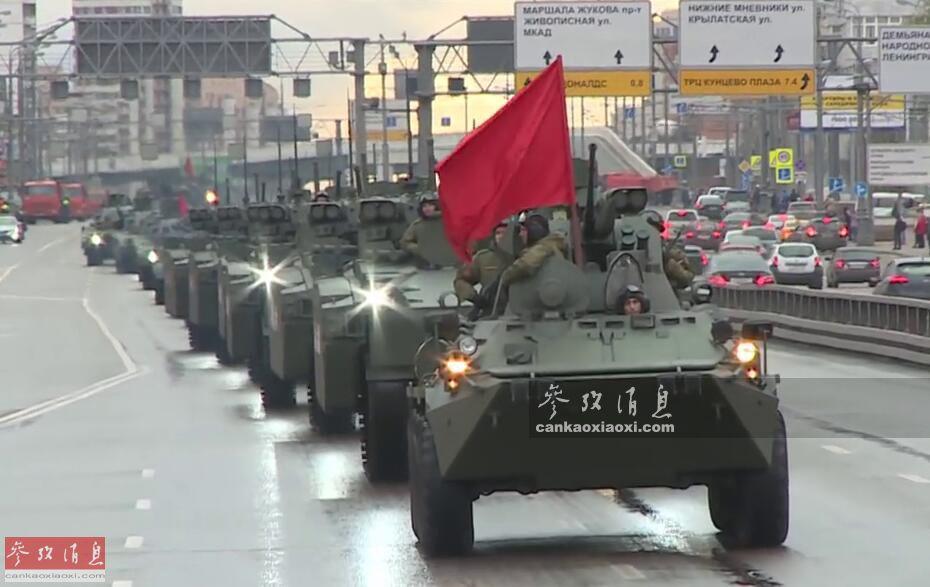 多炮坦克重现!2018红场阅兵武器抢鲜看