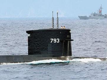 台媒披露台拟自造2000吨级以上潜艇:已完成初步设计