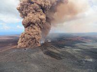 夏威夷发生火山喷发和地震