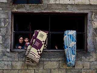 逃离战争的叙利亚难民生活