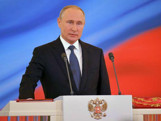 普京提出到2024年时俄应跻身世界五大经济体