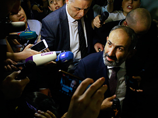 亚美尼亚新总理:帕希尼扬