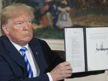 特朗普宣布美国退出伊朗核协议 并对伊实施最高级别制裁
