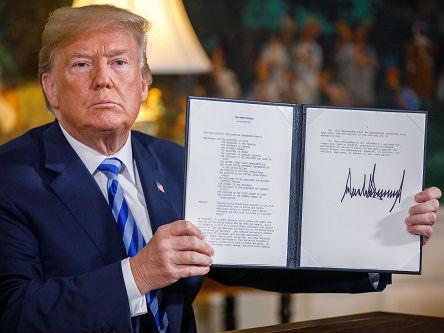西媒评述:退出伊核协议是美国新军事冒险的开端