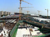 北京冬奥场馆国家速滑馆工程全面施工
