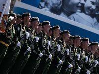 俄罗斯举行红场阅兵纪念卫国战争胜利