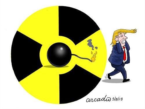 """""""引爆""""核弹"""