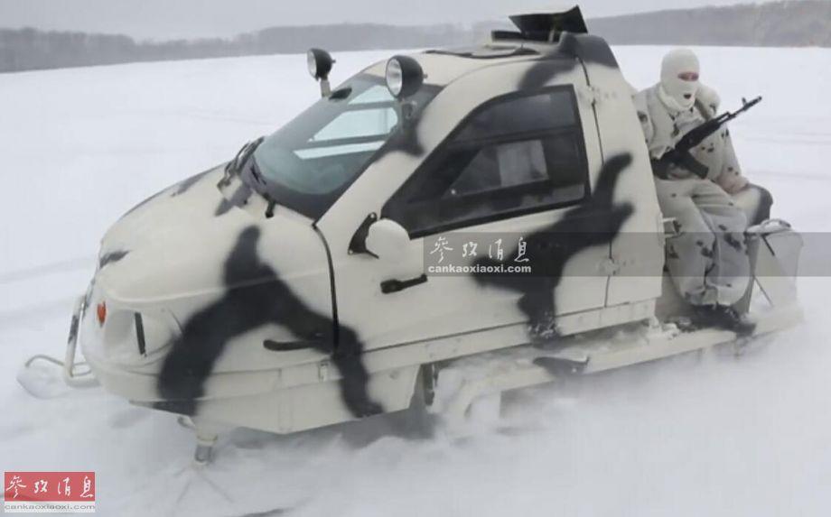 北极轻骑!俄