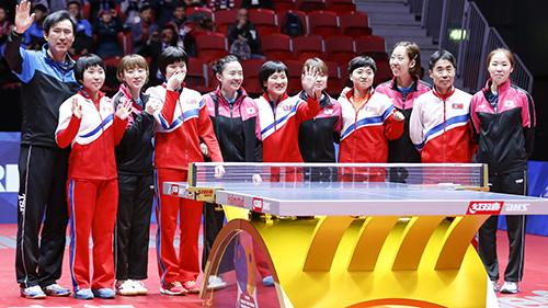 快三开奖结果江苏:为亚运会组朝韩联队预热?韩乒乓球队拟下月赴朝参赛
