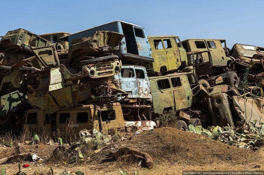 为争夺荒地开战 造成10万人死亡:埃厄战争对峙持续20年