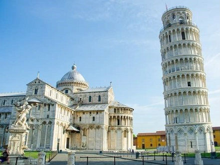 比萨斜塔屹立不倒有新说:土软致塔斜 且助其抗震
