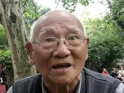 """学到老活到老!93岁上海老人自学英语称可""""永葆青春"""""""