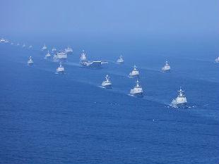 美媒:中国近年造舰产量惊人 舰艇总量已比肩老牌海上大国