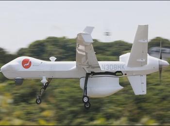 日媒:美大型监视无人机在日测试 更换部件即可发射导弹