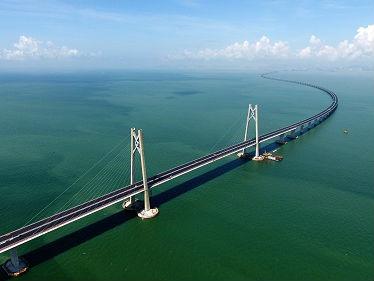 美媒:港珠澳大桥堪称非凡壮举 展现中国不断增强雄心