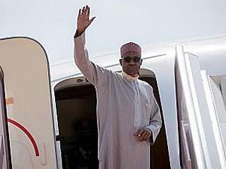 """尼日利亚总统经常出国进行""""治疗性访问"""" 民众不高兴了?"""